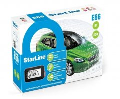 Автосигнализация StarLine E66 BT 2CAN+2LIN ECO (Арт. А0000005183)